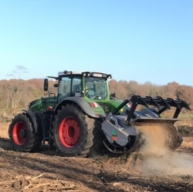 CHAUFFEUR BROYEUR FORESTIER - ABATTAGE DEBARDAGE BROYAGE LABOUR